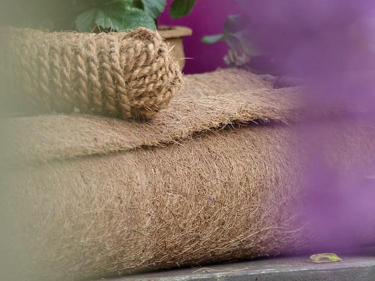 kokosfaser matte winterschutz f r garten und pflanzen natur 150 x 50 cm. Black Bedroom Furniture Sets. Home Design Ideas