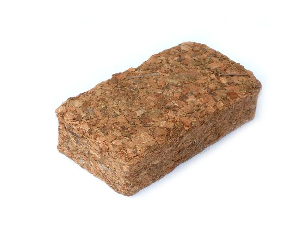 Kokos Chips Bodengrund Terrarium - 36 x 5 Liter Kokosziegel - grob
