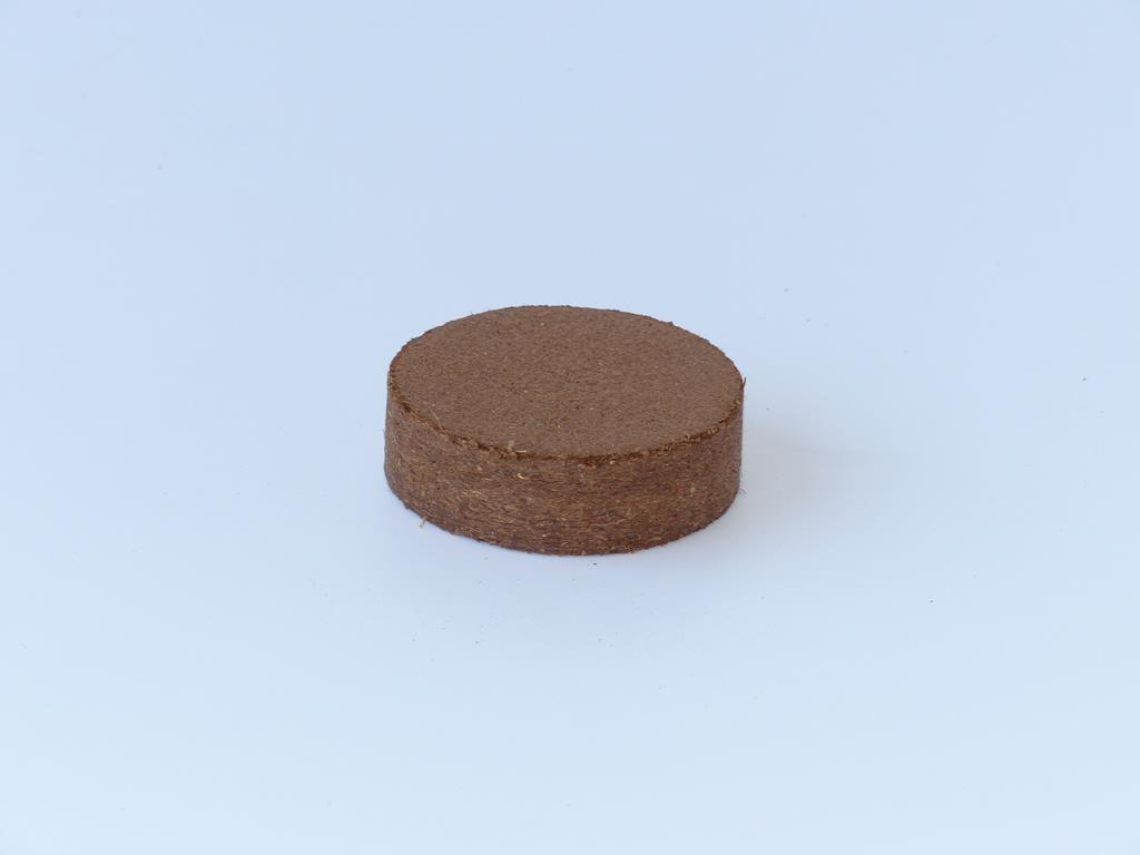 Kokosfaser Quelltablette 60mm - 10 Stück