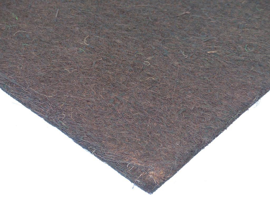 Kokosfaser Rückwand 40 x 40 cm - braun