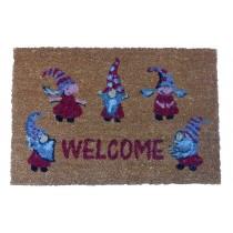 """Fußmatte 40x60cm Weihnachtsmotiv """"Welcome"""""""