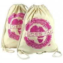 GOES FAIR® Gymbag fuchsia - 2er-Set