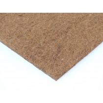 Kokosfaser Rückwand 30 x 30 cm - natur - 4er Set