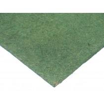 Kokosfaser Rückwand 100 x 50 cm - grün