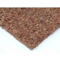 Kokosfaser Rückwand mit Hust Chips 100 x 50 cm