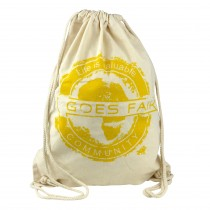 GOES FAIR® Gymbag gelb