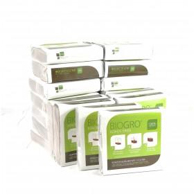 BIOGRO® Kokos-Blumenerde - torffrei - im Quellbeutel - 20 x 10 L - Nie mehr schwere Säcke tragen