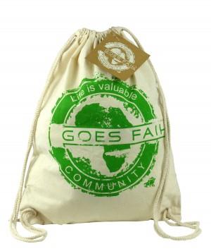 GOES FAIR® Gymbag grün