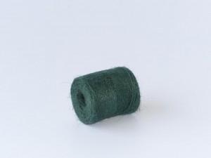 Jute Garn 50m - ca. 40g schwer - grün