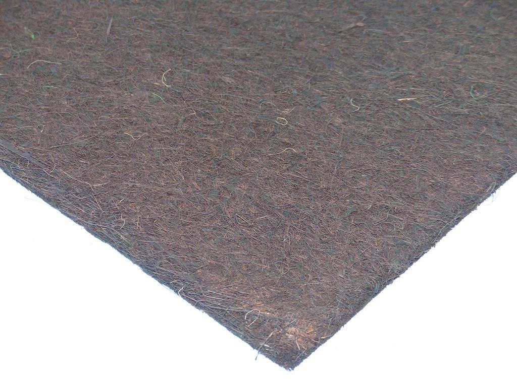 Kokosfaser Mulchmatte 40 x 40 cm - braun