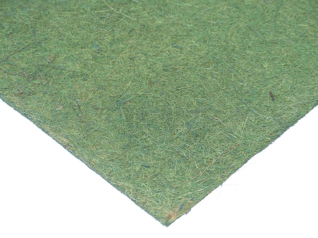 Kokosfaser Mulchmatte 40 x 40 cm - grün