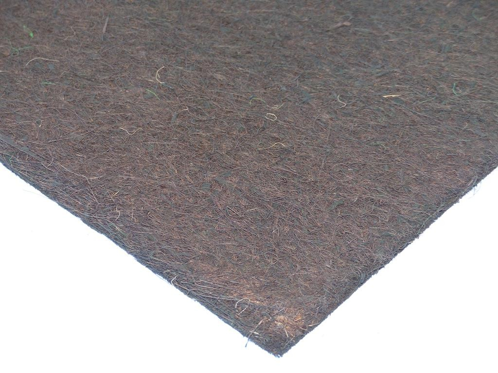 Kokosfaser Mulchmatte 50 x 50 cm braun