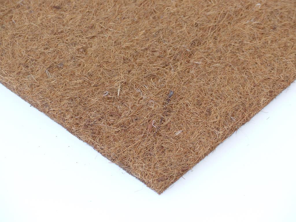 Kokosfaser Mulchmatte 50 x 50 cm - natur