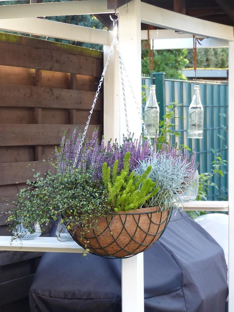Blumenampel 40cm - 3teiliges Set - 2