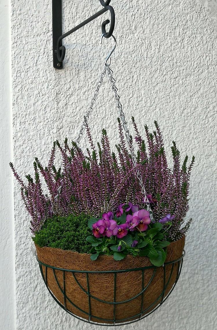 Blumenampel 30cm - 3teiliges Set