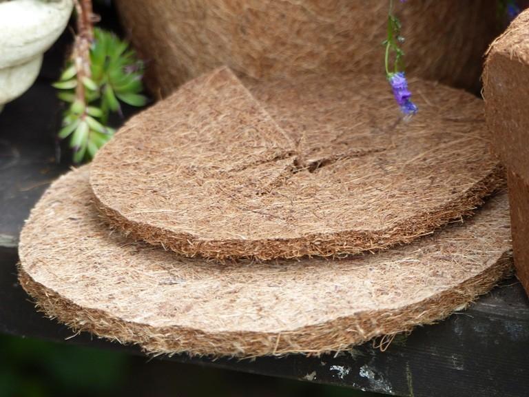 Kokosfaser Mulchscheibe 25cm