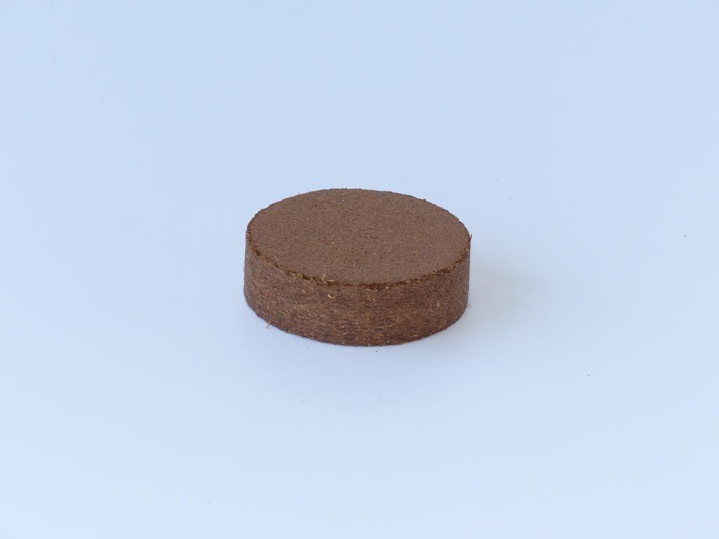 Kokosfaser Quelltablette 60mm - 20 Stück