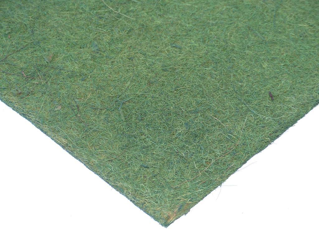 Kokosfaser Rückwand 40 x 40 cm -grün