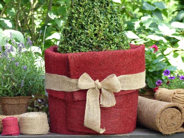 ProFlora Winterschutzmatte 150 x 50 cm - rot