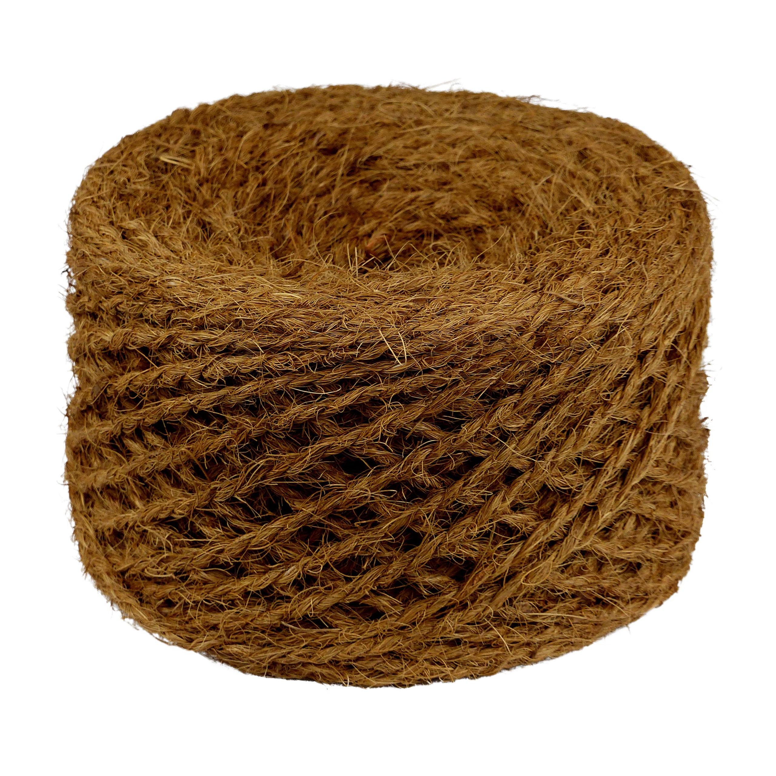 Kokosseil - Baumbindeband - Naturseil - Länge 100 m - Stärke ca. 3,5 mm - 1