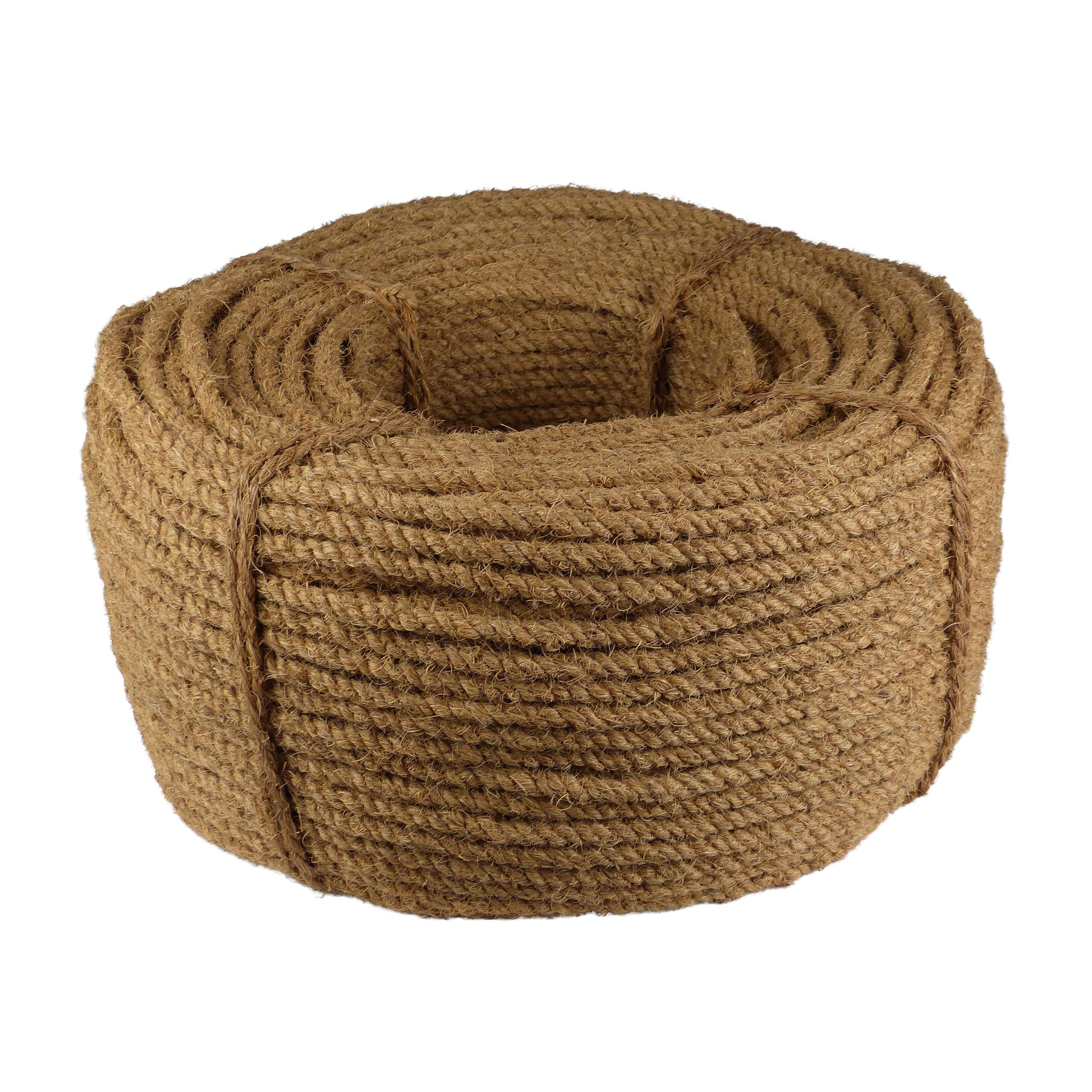Kokosseil - Baumbindeband - Naturseil - Länge 200m - Stärke ca. 10 mm - 1