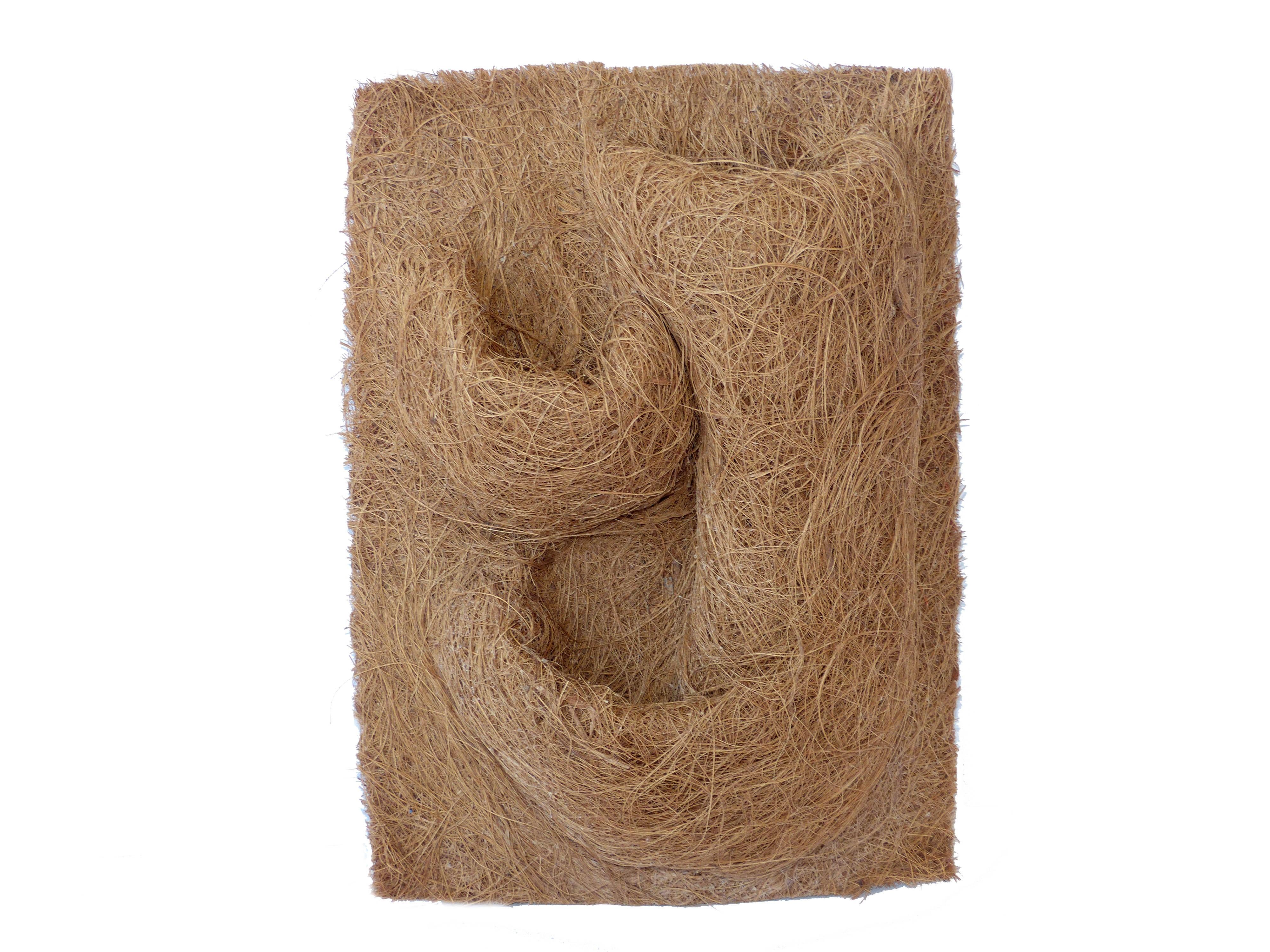Kokosfaser Rückwand 20 x 30 mit Pflanztaschen