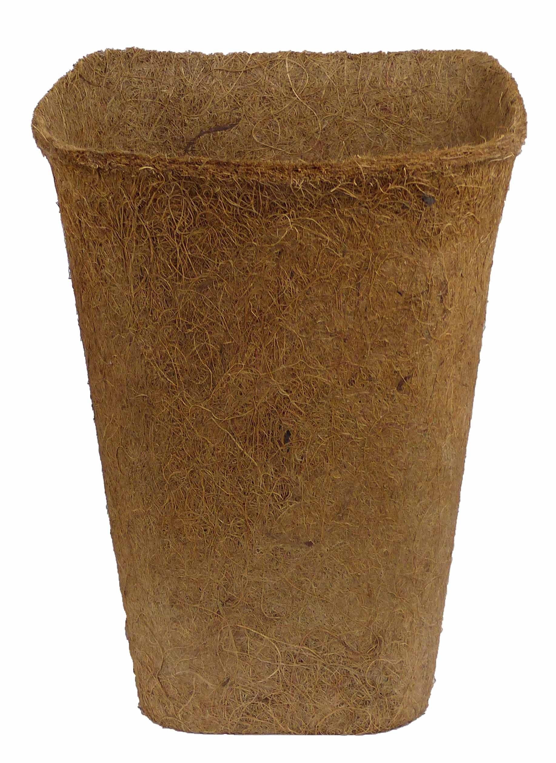 Kokosfaser Rosentopf 18x18cm 1