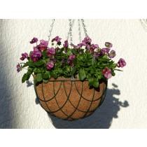 Blumenampel 25cm - 3teiliges Set