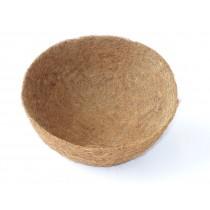 Kokoseinlage mit Tropfschutz für Blumenampel - 35 cm