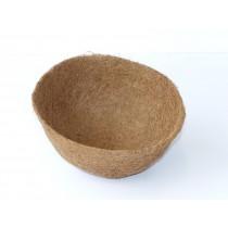 Kokoseinlage mit Tropfschutz für Blumenampel - 25 cm