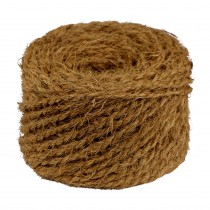 Kokosseil - Baumbindeband - Naturseil - Länge 50 m - Stärke ca. 4,5 mm - 1