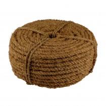 Kokosseil - Baumbindeband - Naturseil - Länge 50m - Stärke ca. 10 mm - 3fach gewickelt -1