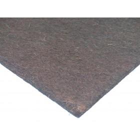 Kokosfaser Mulchmatte 50x50cm - dunkelbraun