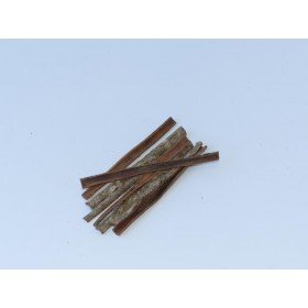 Catappa Bark Seemandelbaum Rinde - large - 12cm Länge - 8 Stk./Bündel