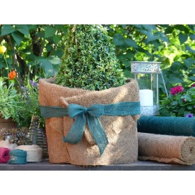 Kokosfaser Matte Winterschutz für Garten und Pflanzen - natur - 150 x 50 cm