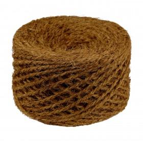 Kokosfaser Naturseil - Baumbindeband - 100m - Stärke ca. 0,5 cm