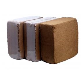 Kokosfaser Bodengrund Terrarium - Humusziegel Maxi - Vorteilspaket 3 x 70 Liter