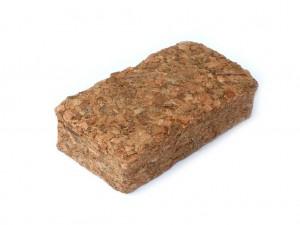 Kokos Chips Bodengrund Terrarium - 10 x 5 Liter Kokosziegel - grob