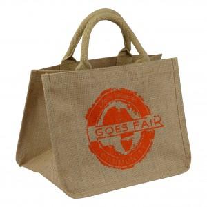 GOES FAIR - kleine Tasche - orange - OKI Moringa-Kindertafel Jede Tasche eine Mahlzeit