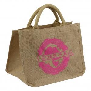 GOES FAIR - kleine Tasche - pink - OKI Moringa-Kindertafel Jede Tasche eine Mahlzeit