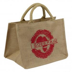 GOES FAIR - kleine Tasche - rot - OKI Moringa-Kindertafel Jede Tasche eine Mahlzeit