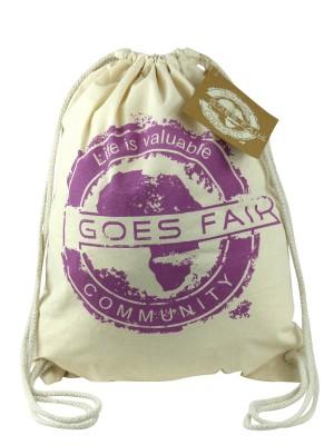 GOES FAIR® Gymbag lila