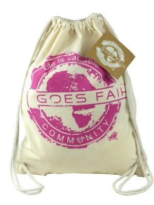 GOES FAIR® Gymbag fuchsia