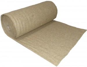 Hanfmatte - Nagerteppich - Käfigeinlage -  15m x 1m x 10mm - Rolle - kostenlose Lieferung in D