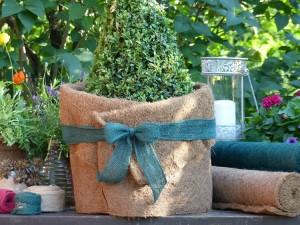 Kokosfaser Matte Winterschutz für Garten und Pflanzen - natur - 150 x 50 cm - 10 Stück