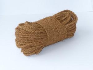 Kokosseil 100m - 1 cm stark