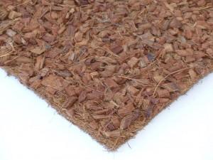 Kokosfaser Rückwand mit Hust Chips 150 x 50 cm