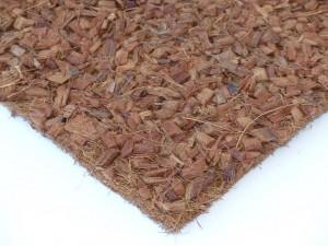 Kokosfaser Rückwand 30 x 30 cm mit Husk Chips