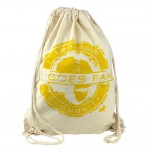GOES FAIR® Gymbag gelb